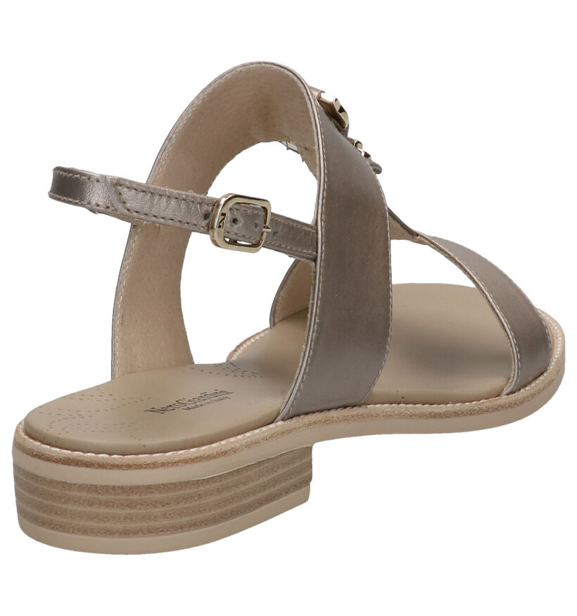 NeroGiardini Witte Sandalen in leer (270563)