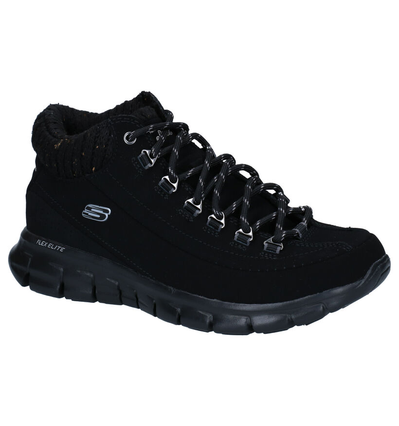 Skechers Synergy Winter Nights Baskets en Noir en synthétique (279395)