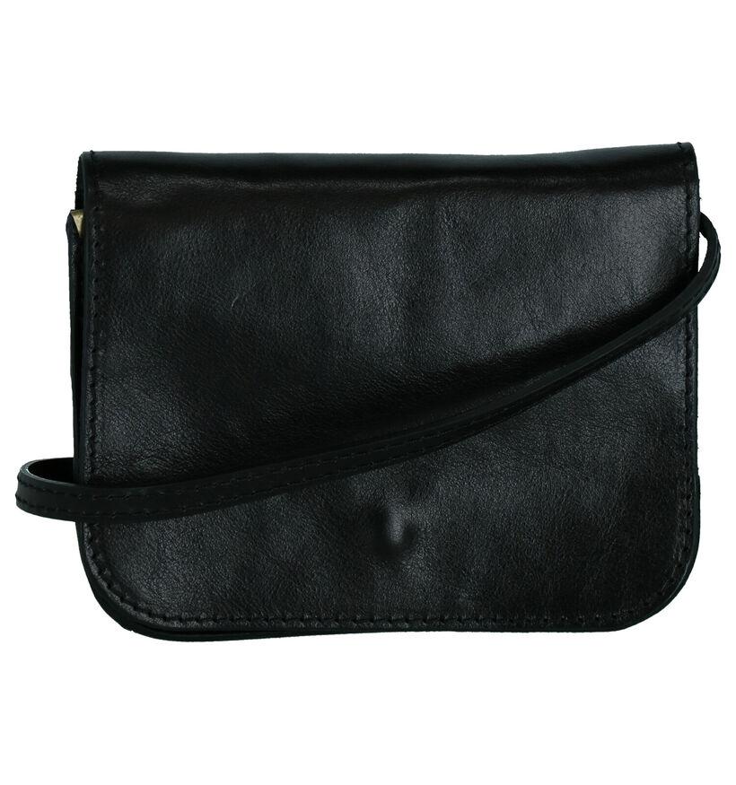 Time Mode Tom Sac porté croisé en Noir en cuir (265452)