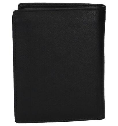 Maverick Zwarte Portefeuille in leer (235622)