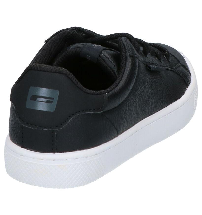 Jack & Jones JR Trent Zwarte Sneakers in kunstleer (255229)