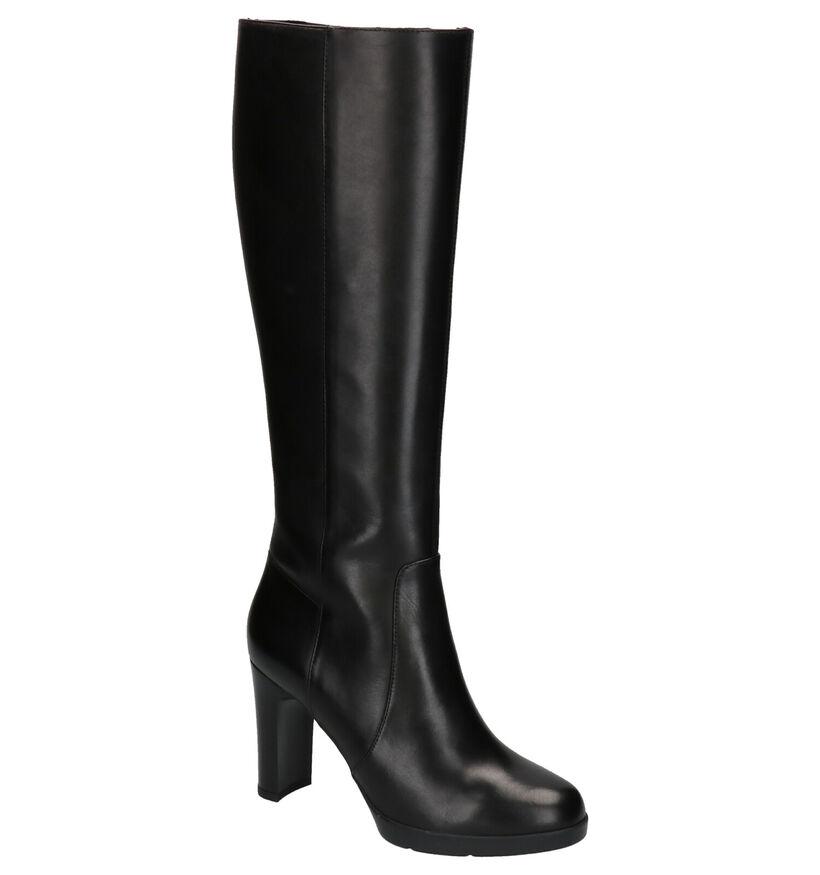 Geox Zwarte Laarzen in leer (263882)