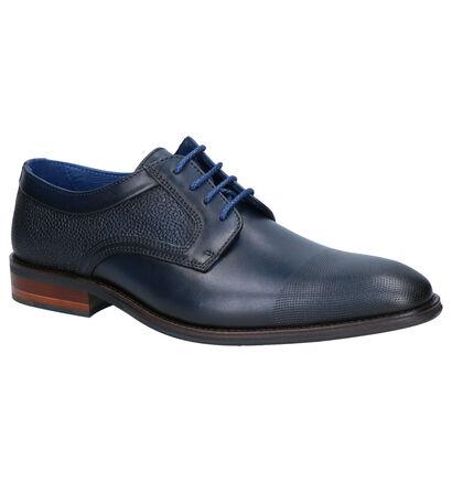 Braend Chaussures habillées en Bleu foncé en nubuck (261040)