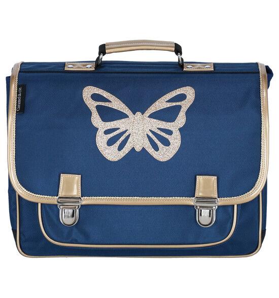 Caramal & cie. Papillon Cartable en Bleu
