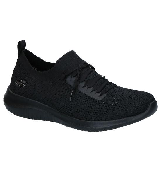 Zwarte Slip-on Sneakers Skechers