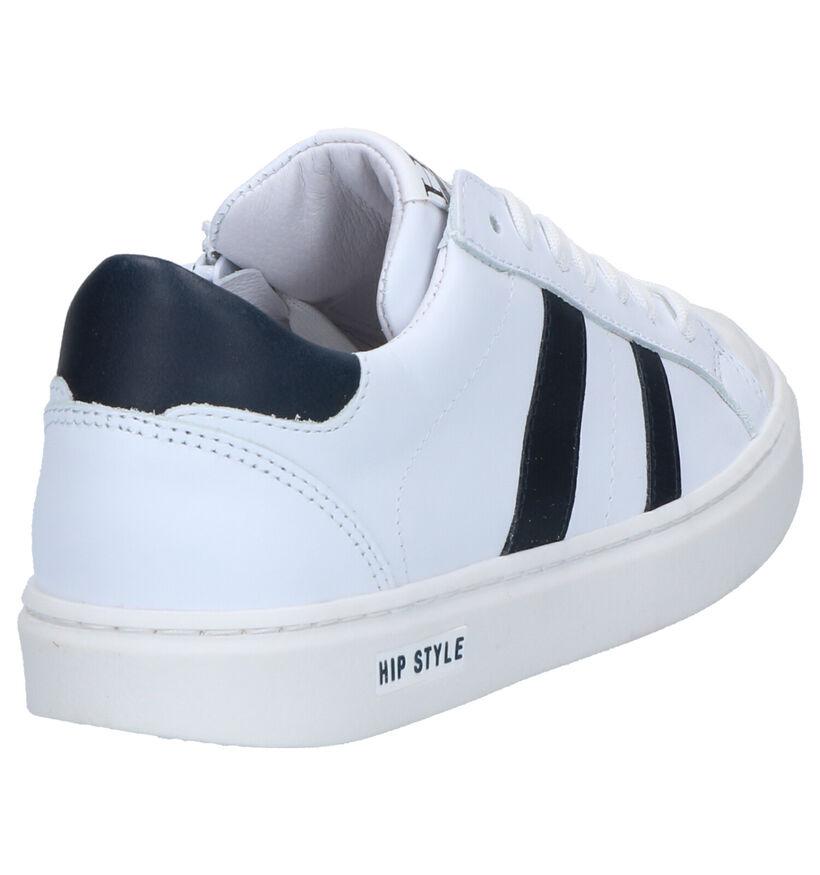 Hip Baskets basses en Blanc en cuir (266663)