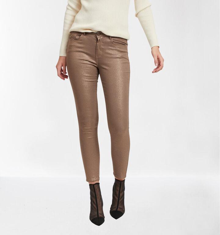 Vila Jeans Skinny Fit en Bronze
