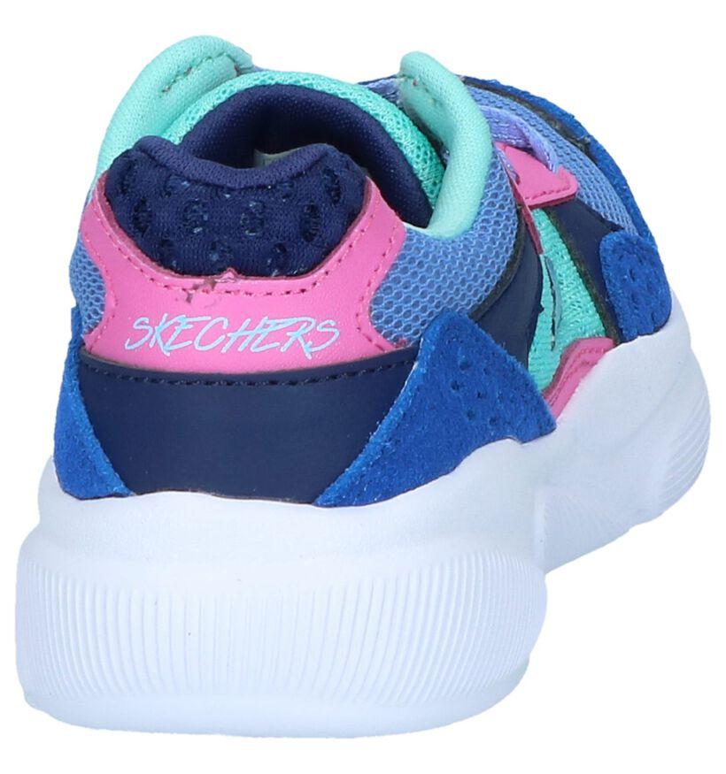 Skechers Memory Foam Baskets basses en Multicolore en daim (250667)