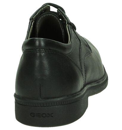 Geox Chaussures basses en Noir en cuir (194749)