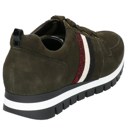 Gabor Chaussures à lacets en Noir en daim (260216)