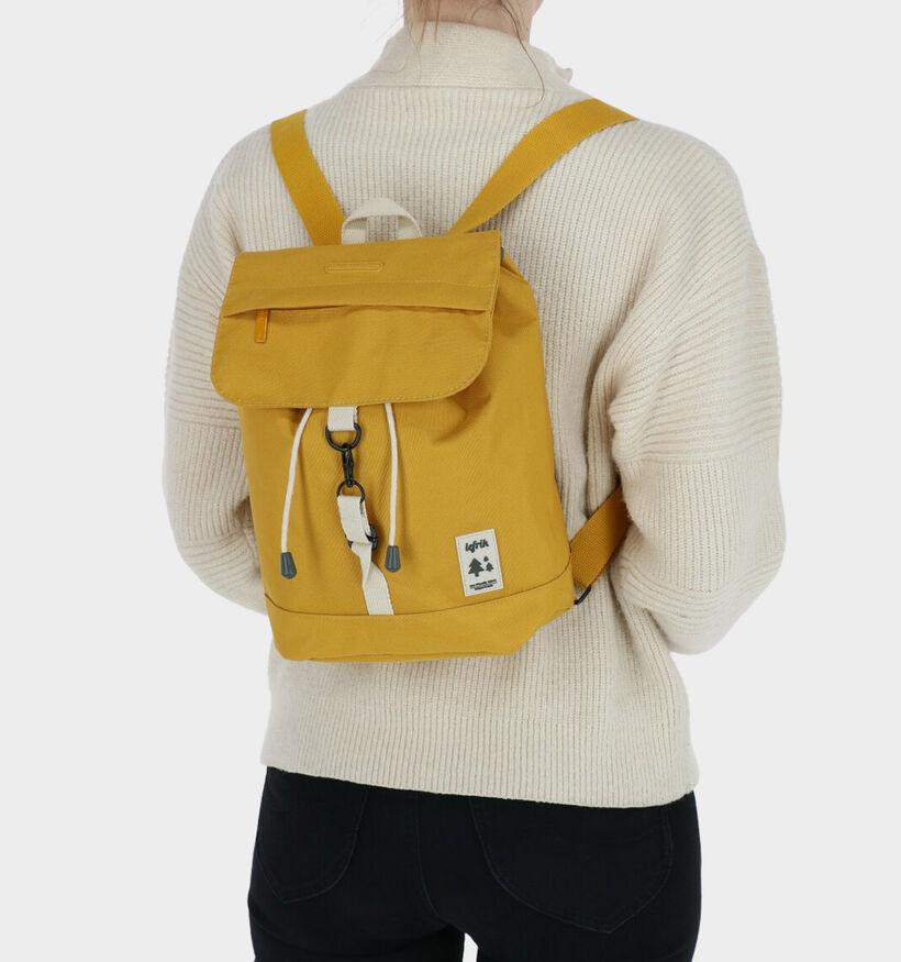 Lefrik Scout Mini Sac à dos en Jaune en textile (293591)