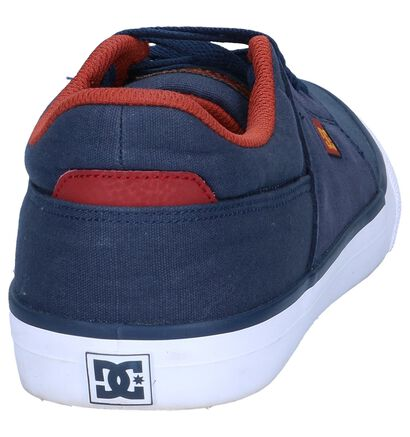 DC Shoes Wes Kremer Blauwe Skater in kunstleer (198606)