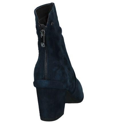 Be Natural Bottes basses en Bleu foncé en daim (225919)