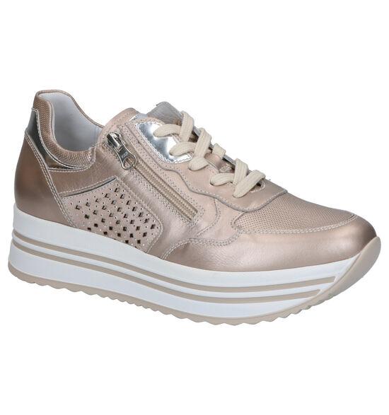 NeroGiardini Chaussures à lacets en Or