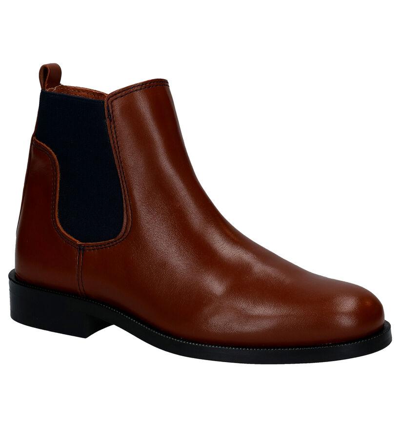 Hampton Bays Chelsea Boots en Noir en cuir (282886)