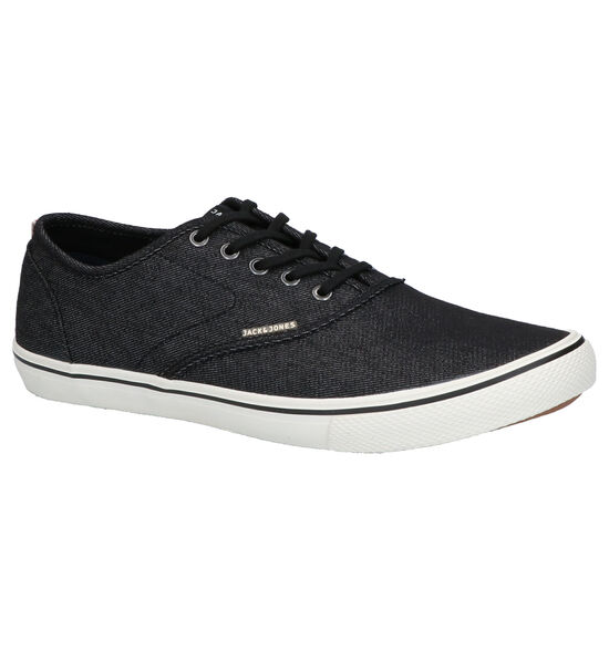 Jack & Jones Heath Zwarte Veterschoenen