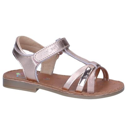 Rose Golden Sandalen Shoo Pom in leer (242887)