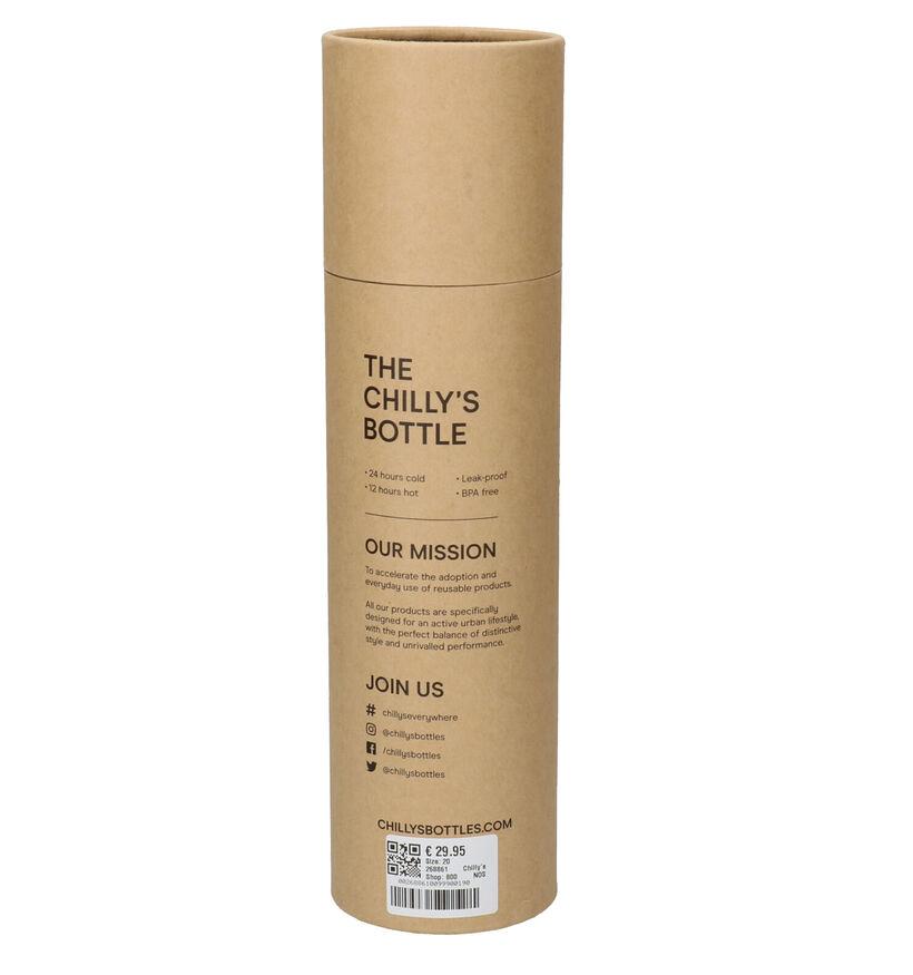 Chilly's Monochrome Gourde en Noir 750 ml (268861)