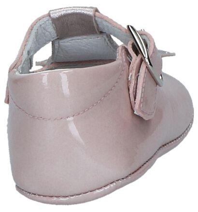 Roze Babypantoffels Beberlis in lakleer (245708)