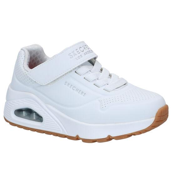 Skechers Uno Air Blitz Witte Sneakers