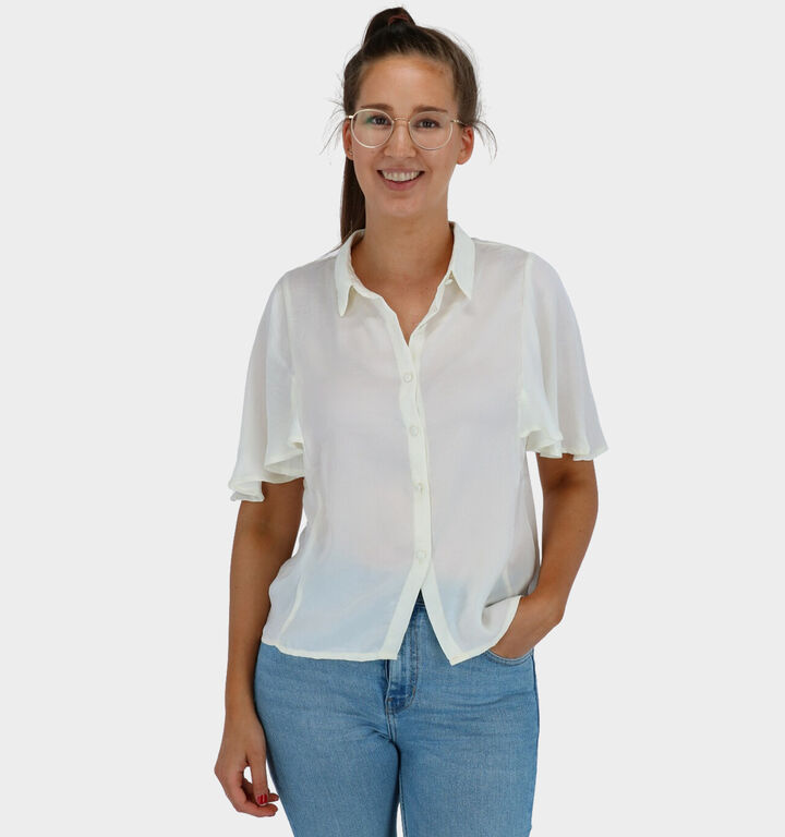 Lofty Manner Lizzy Chemise en Blanc