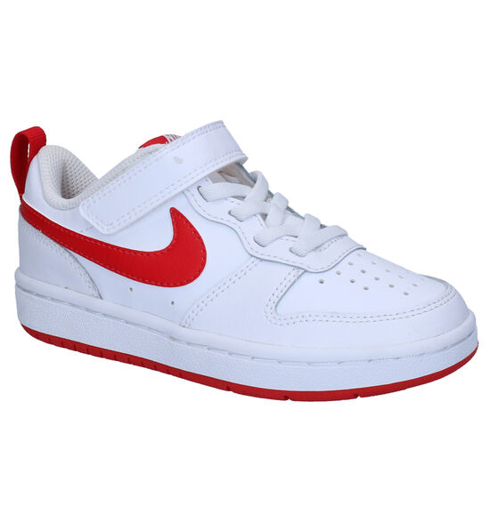 Nike Court Borough Low Witte Sneakers