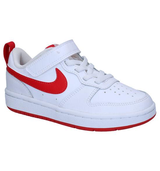 Nike Court Borough Low Baskets en Blanc