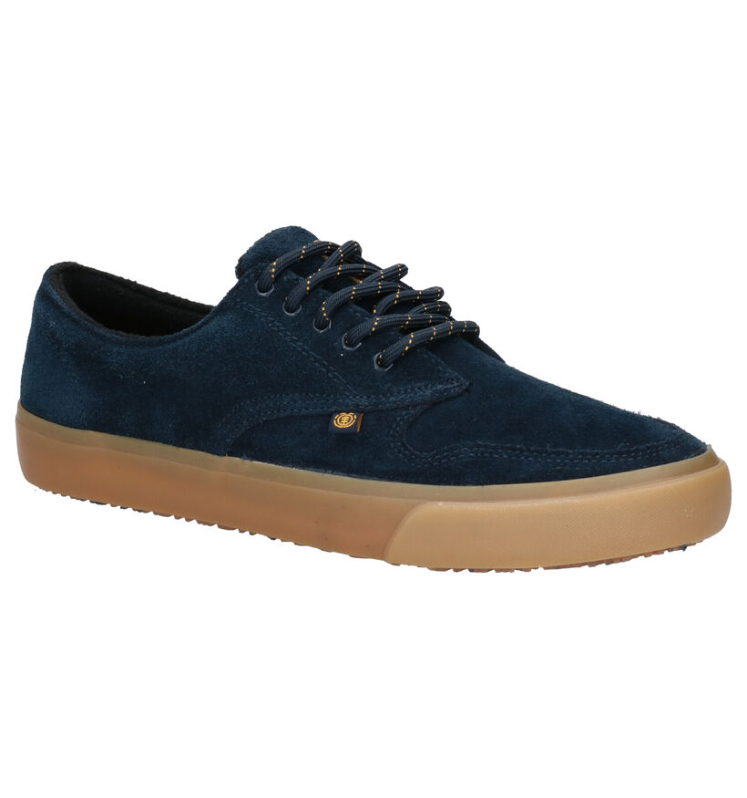 Element Topaz C3 Zwarte Skateschoenen in daim (254899)