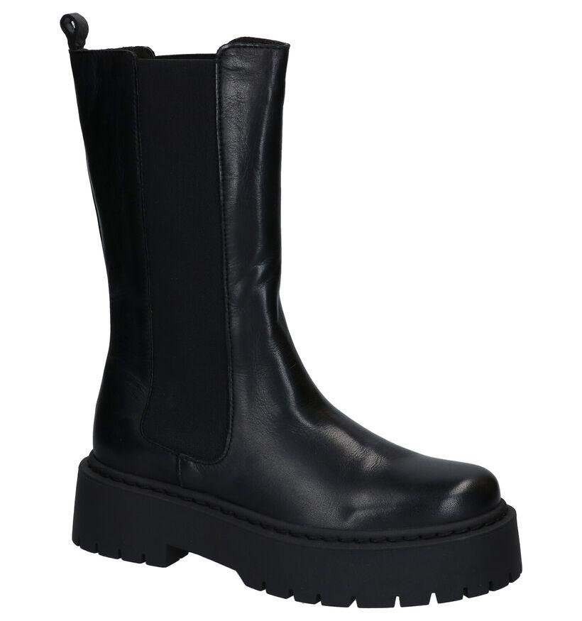 Via Limone Zwarte Boots in leer (290442)