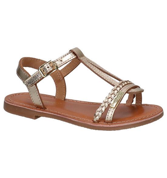 Les Tropeziennes Badou Gouden Sandalen