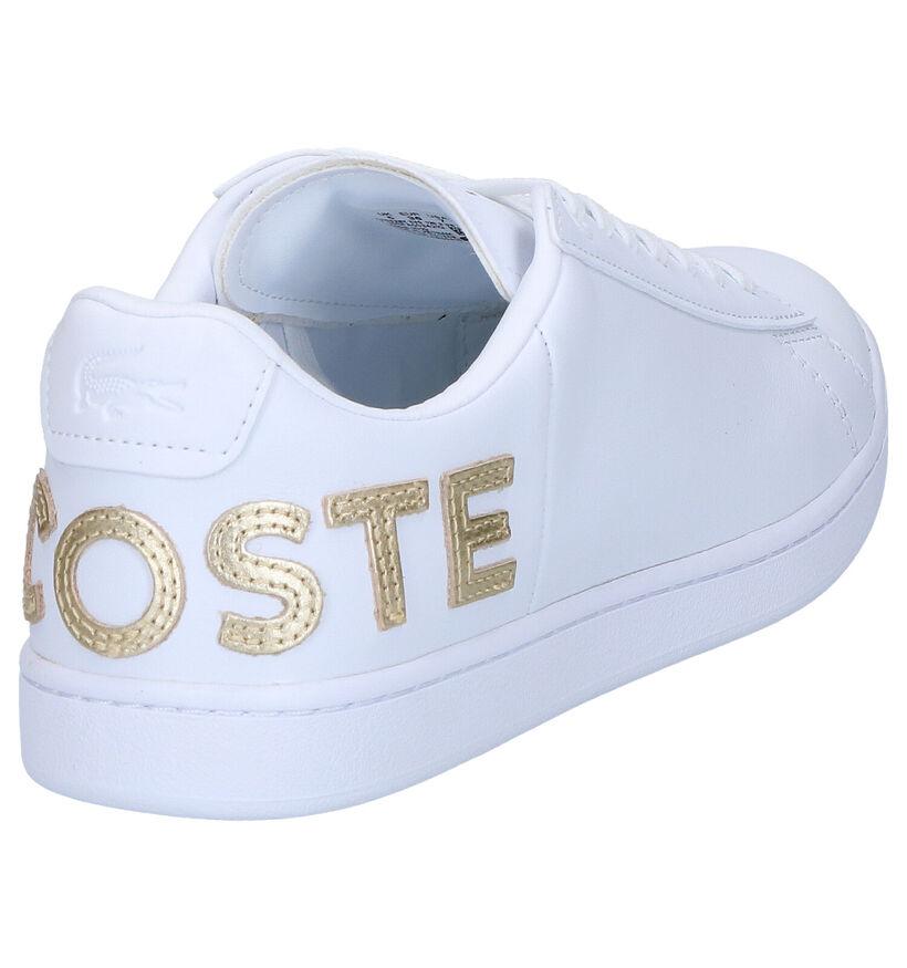 Lacoste Carnaby EVO Witte Sneakers in leer (266908)