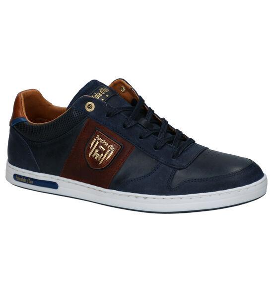 Pantofola d'Oro Milito Low Chaussures à lacets en Bleu