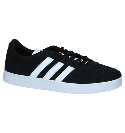 adidas VL Court 2.0 Zwarte Sneakers, Zwart, pdp