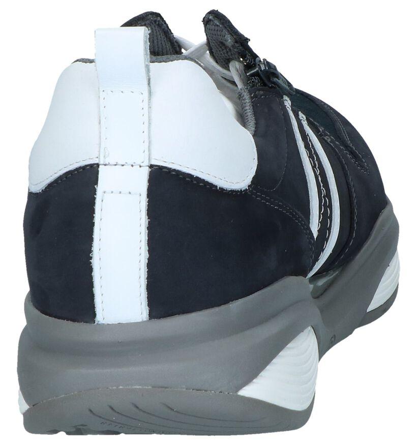Xsensible Chaussures basses en Bleu foncé en nubuck (246462)
