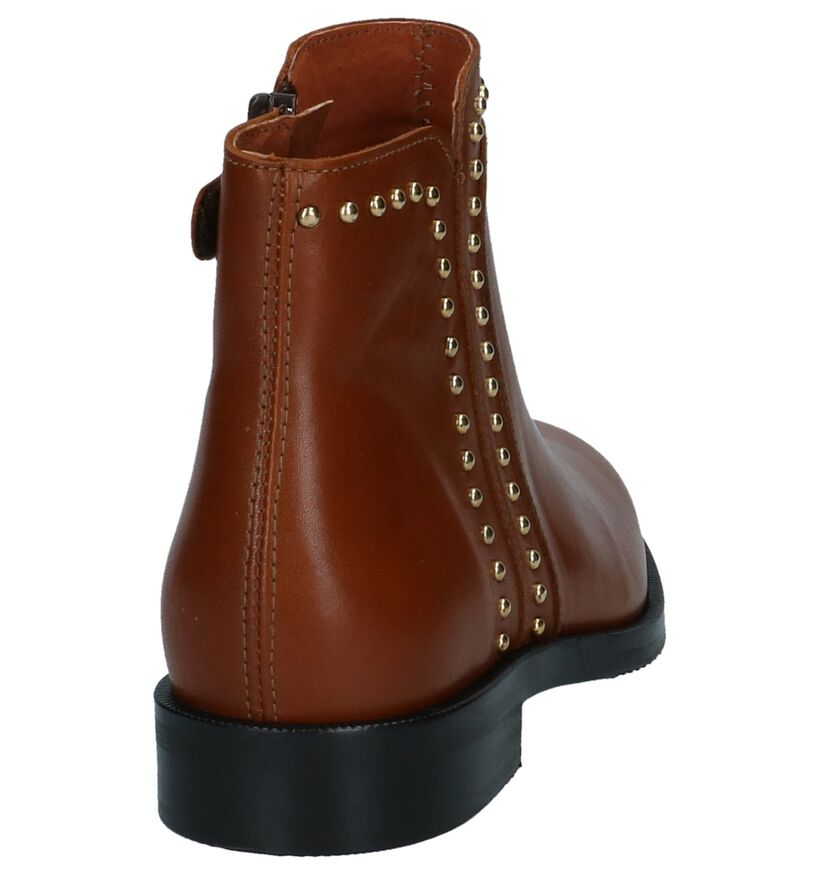 Hampton Bays Chaussures hautes en Cognac en cuir (226134)