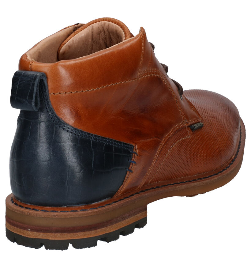 Scapa Chaussures hautes en Cognac en cuir (259105)