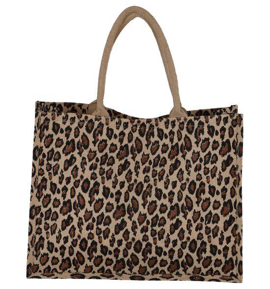Bruine Strandtas Dolce C. Leopard