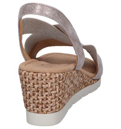 Gouden Sandalen Gabor Comfort in nubuck (245466)