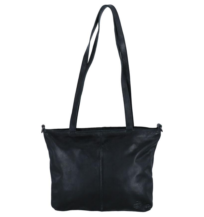 Bear Design Sac à bandoulière en Noir en cuir (283609)
