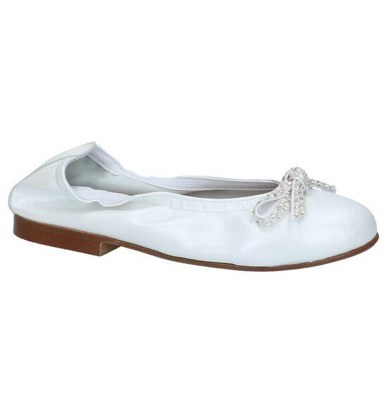 Witte Eli Ballerina's met Strik