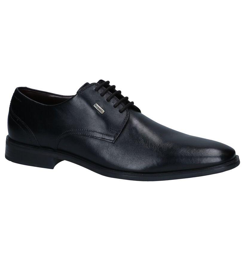 Bugatti Chaussures habillées en Noir en cuir (252954)
