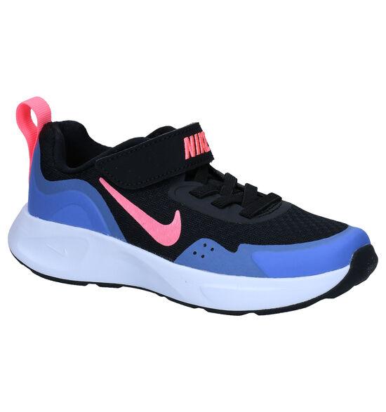 Nike Wear Allday PS Zwarte Sneakers