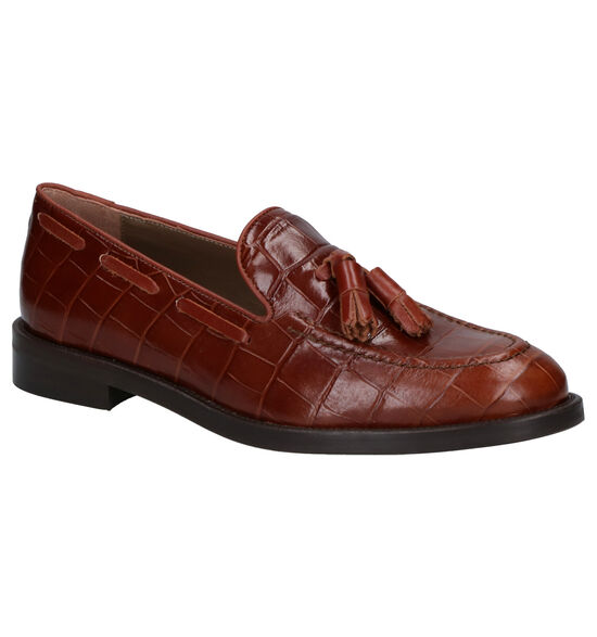 Jhay Cognac Loafers
