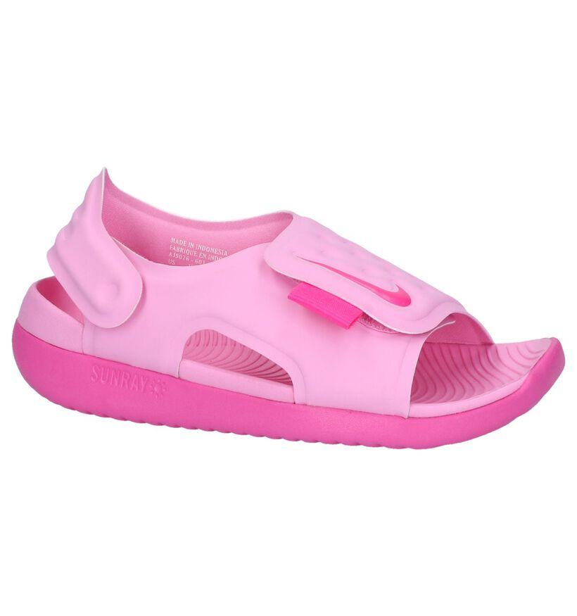 Roze Watersandalen Nike Sunray Adjust in kunststof (238314)