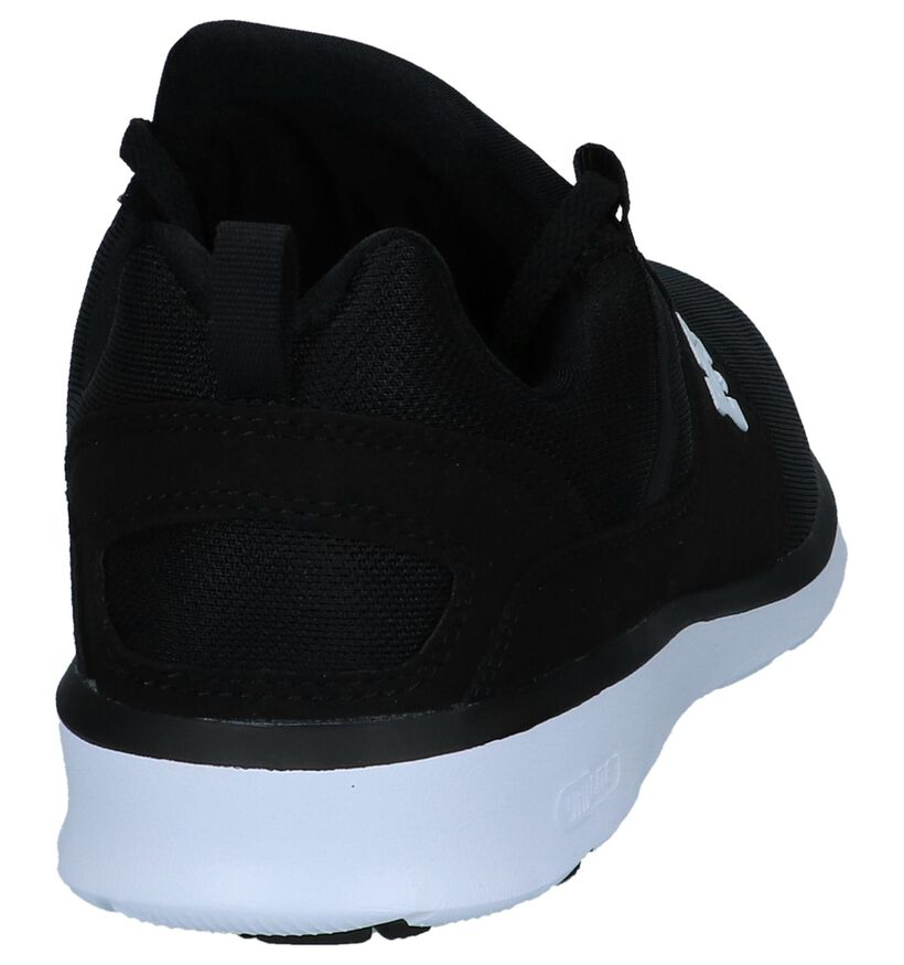 DC Shoes Baskets basses en Noir en textile (211660)