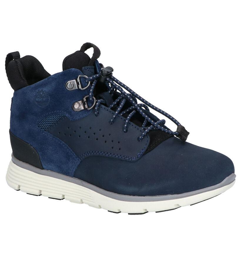 Timberland Killington Hiker Chaussures hautes en Bleu en nubuck (254737)