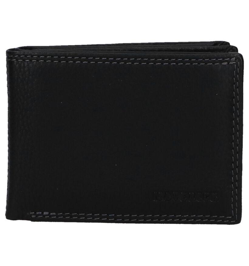 Maverick Zwarte Portefeuille in leer (273455)