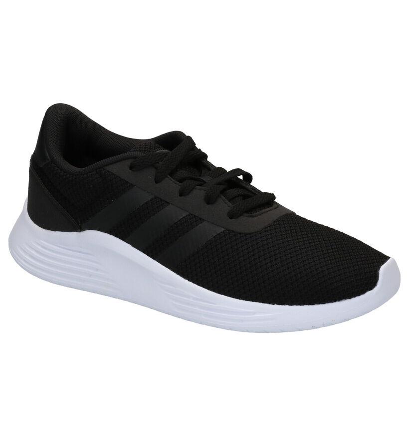 adidas Lite Racer Zwarte Sneakers in stof (264935)