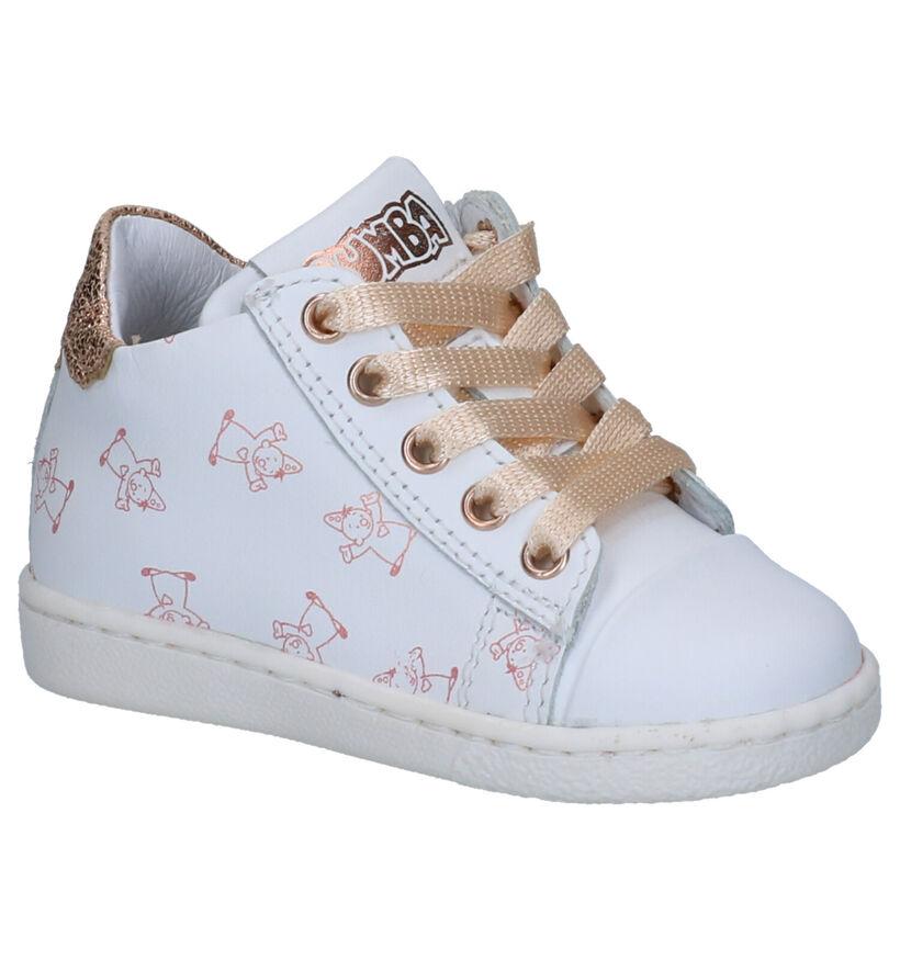 Bumba Chaussures pour bébé  en Blanc en cuir (266033)