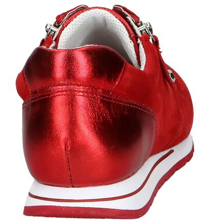 Rode Sneakers Gabor OptiFit in stof (245400)